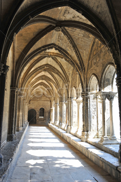 cloister in Arles Stock photo © cynoclub