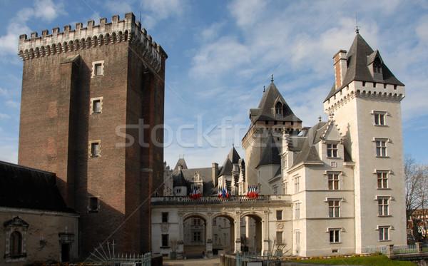 Castel of Pau Stock photo © cynoclub