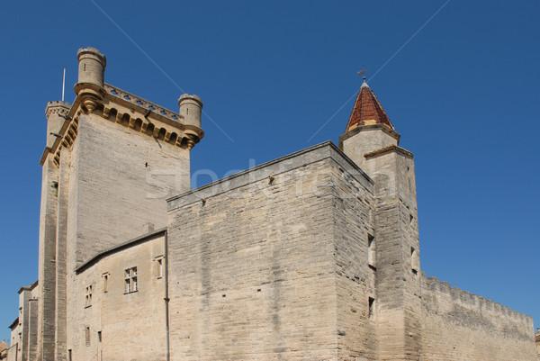 castel of Uzes Stock photo © cynoclub