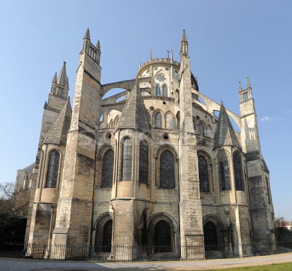 Cathedral of Bourges Stock photo © cynoclub