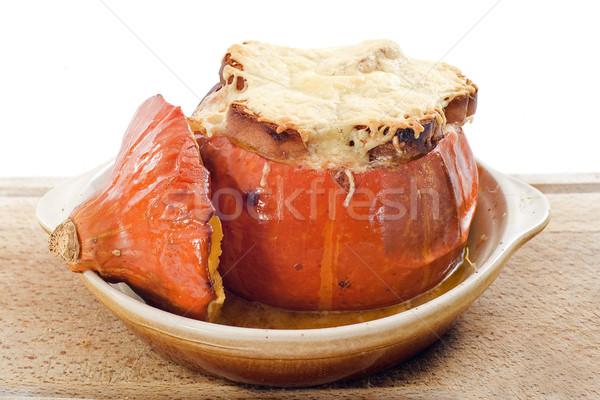 pumpkin gratin Stock photo © cynoclub