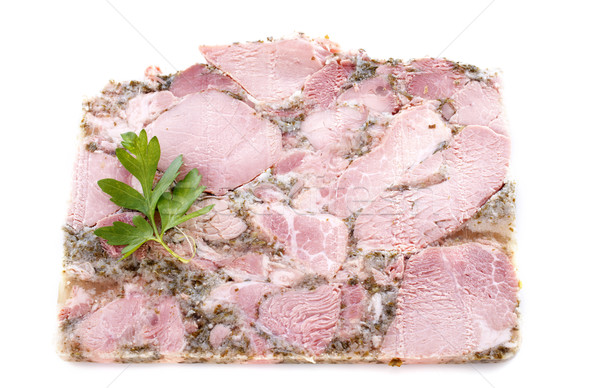 Head cheese Stock photo © cynoclub