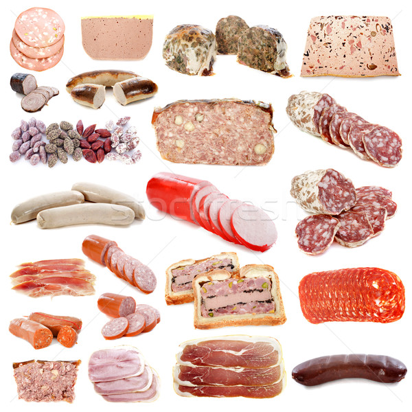 cooked meats Stock photo © cynoclub