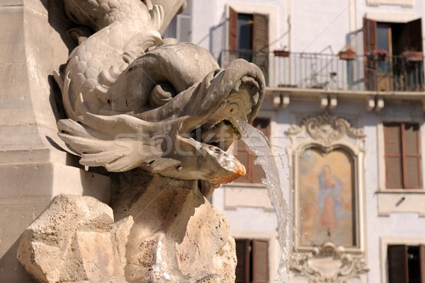 fountain in Rome Stock photo © cynoclub