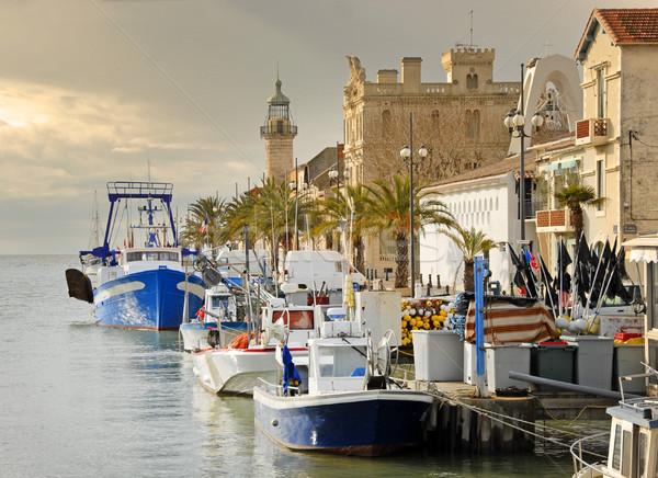 Roi Foto puerto agua casa mar Foto stock © cynoclub