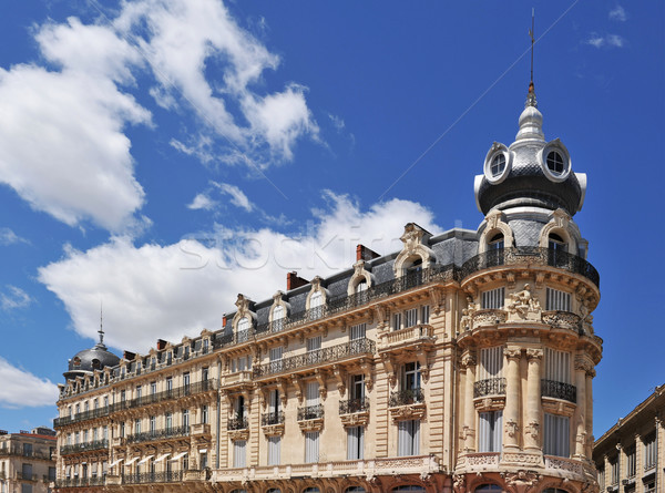 french architecture in Montpellier Stock photo © cynoclub