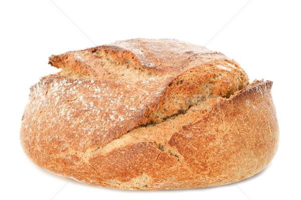 Pan pan blanco estudio Foto stock © cynoclub
