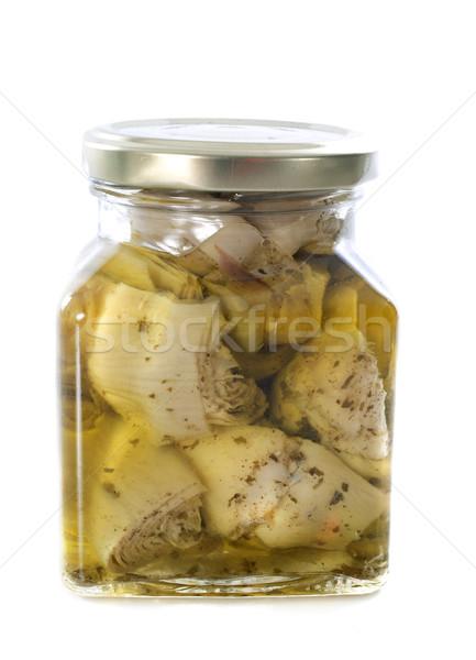 artichoke in oil Stock photo © cynoclub