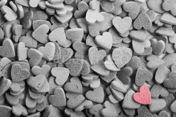 Herz Cookies Liebe Stock foto © cypher0x