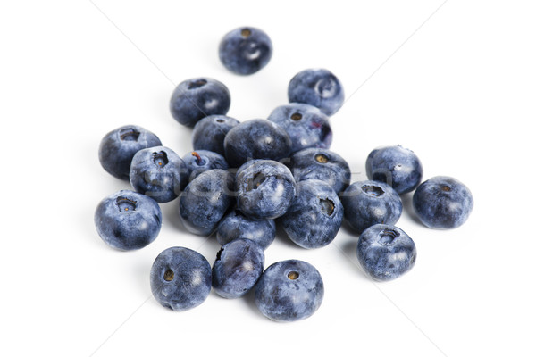 Sweet blueberry isolated on white background Stock photo © cypher0x