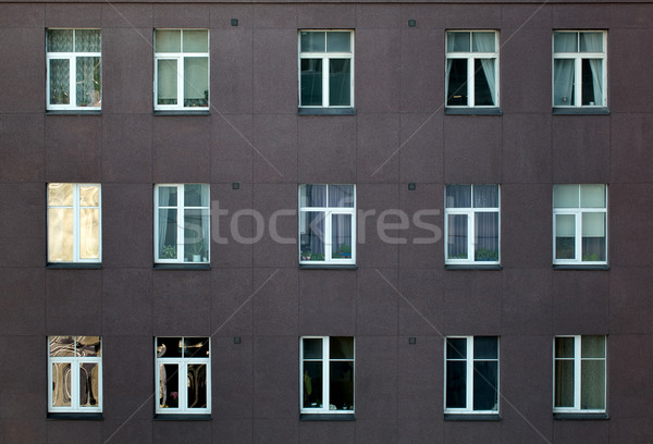 Exterior of an apartment or office block Stock photo © d13
