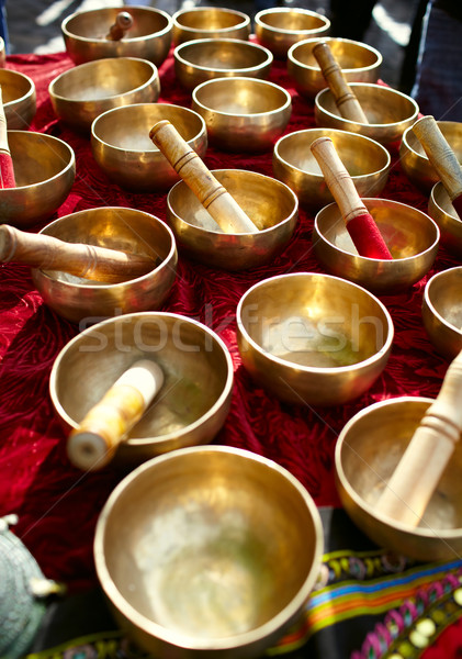 Miedź dania tradycyjny stylu kolor laboratorium Zdjęcia stock © d13