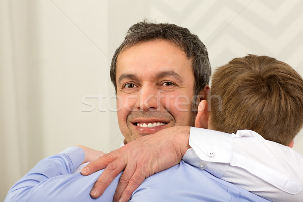 You always can rely on me, son Stock photo © d13