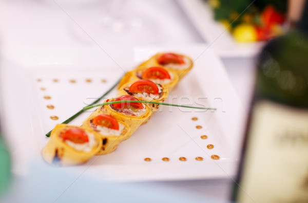 Gourmet appetizers Stock photo © d13