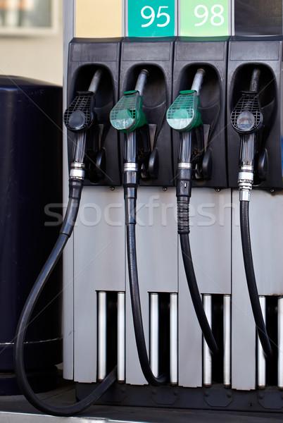 Petrol pump. Stock photo © d13