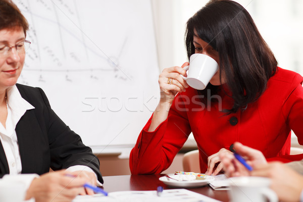 Two women in a business meeting Stock photo © d13