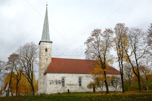 Lutheran church, Johvi, Estonia. Stock photo © d13