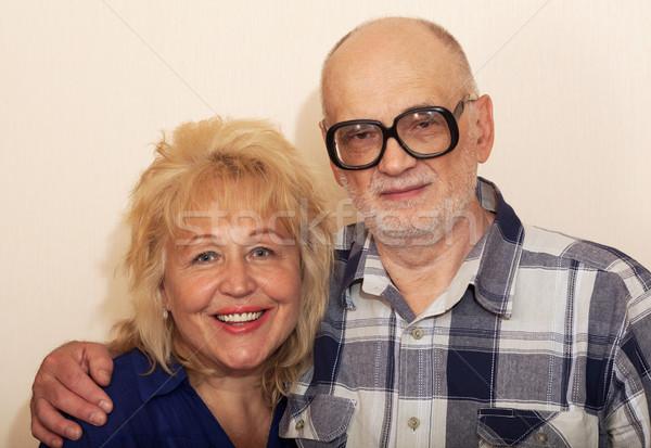 Smiling mature couple Stock photo © d13