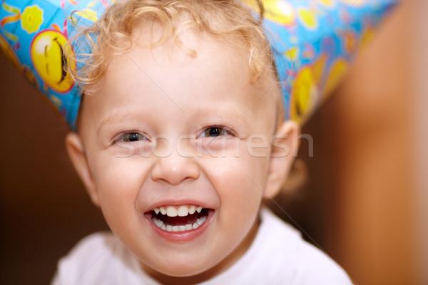 счастливым смеясь мало мальчика портрет Сток-фото © d13