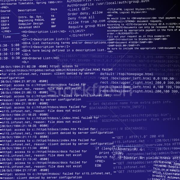 Abstrato html código projeto gradiente escuro Foto stock © d13