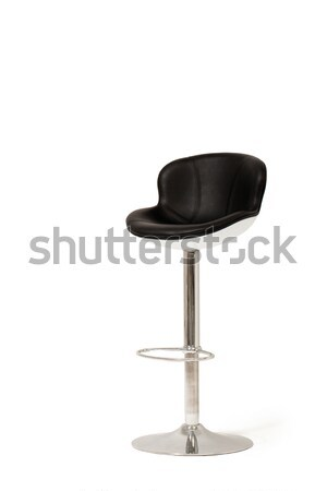 Leather bar stool Stock photo © d13