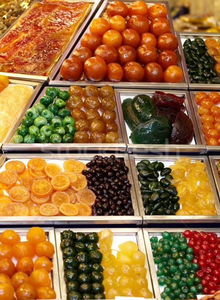 キャンディ 市場 バルセロナ スペイン 食品 旅行 ストックフォト © d13