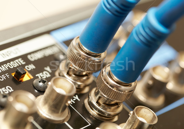 Two HD SDI-video cables Stock photo © d13