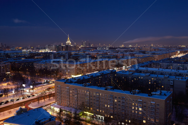 Night Moscow. Stock photo © d13