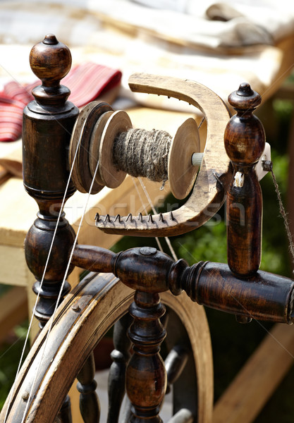 Weaving loom Stock photo © d13