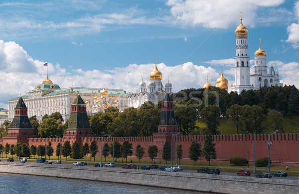 Moscow Kremlin and waterfront. Stock photo © d13