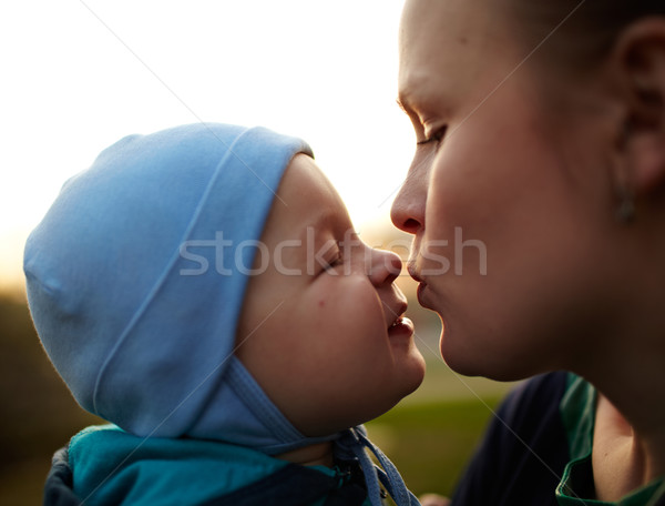 Mother and child Stock photo © d13