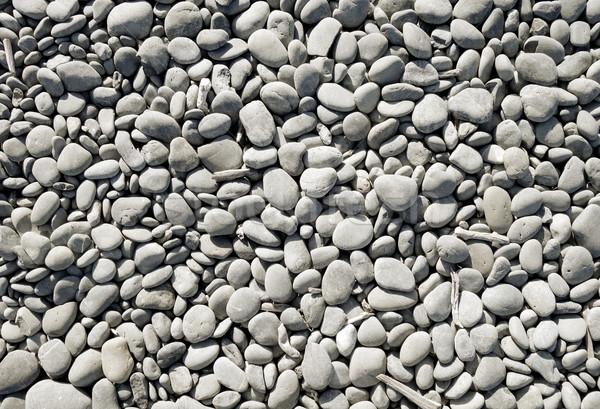 Ciottoli texture spiaggia wallpaper mare giardino Foto d'archivio © daboost
