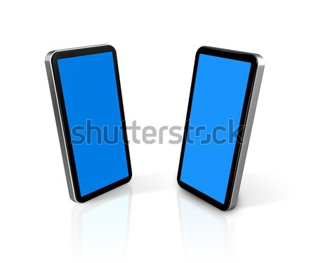 two mobile phones Stock photo © daboost