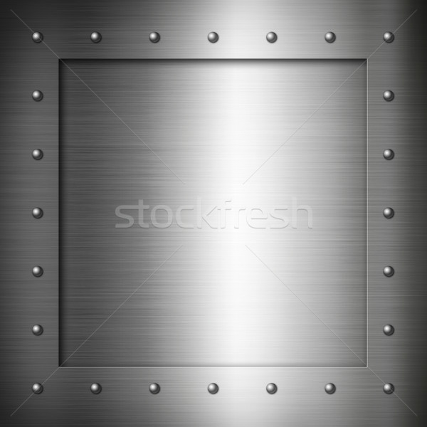 Brushed Steel frame Stock photo © daboost