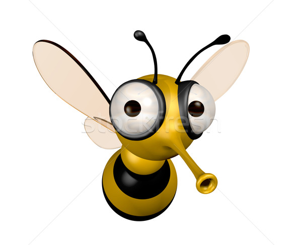 funny bee Stock photo © daboost