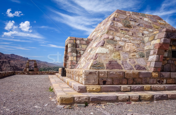 Мир синий путешествия гор каменные архитектура Сток-фото © daboost