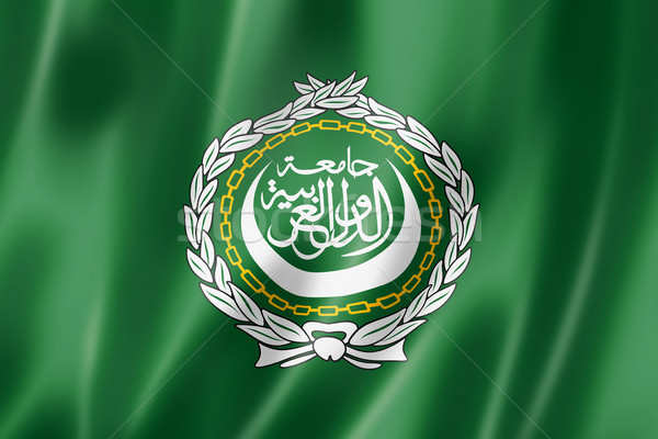 Arab League flag Stock photo © daboost