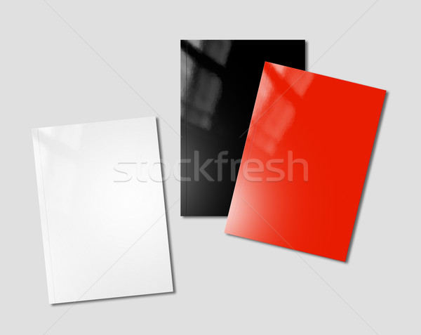 booklets mockup template Stock photo © daboost