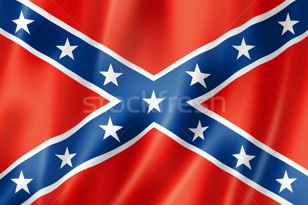 Confederate flag Stock photo © daboost