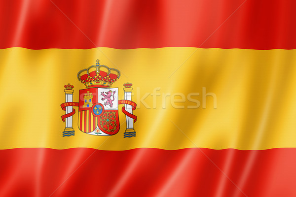 Spanish flag Stock photo © daboost