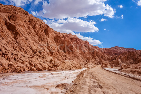 Valle de la muerte in San Pedro de Atacama, Chile Stock photo © daboost