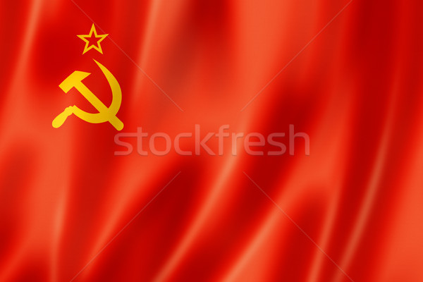 USSR flag Stock photo © daboost