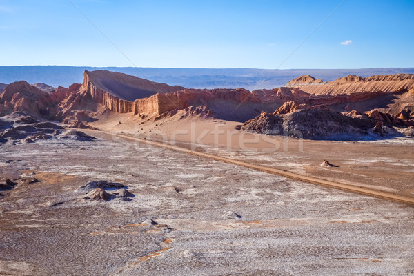 Valle de la Luna in San Pedro de Atacama, Chile Stock photo © daboost