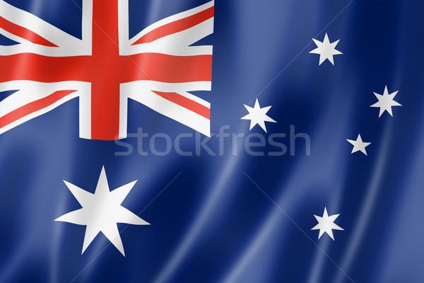 Australian flag Stock photo © daboost