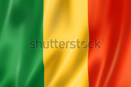 Mali flag Stock photo © daboost