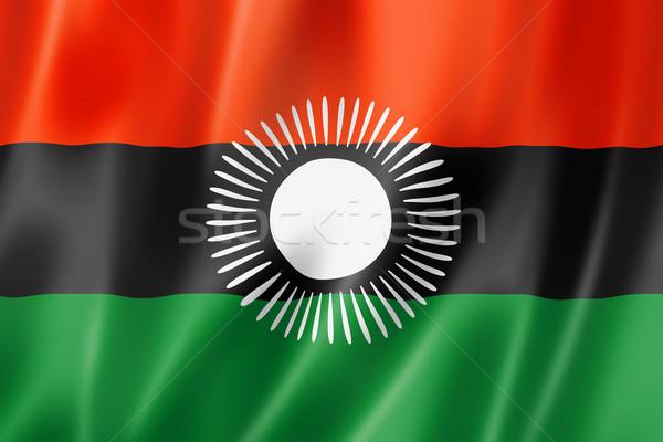 Малави флаг оказывать атласных текстуры Сток-фото © daboost
