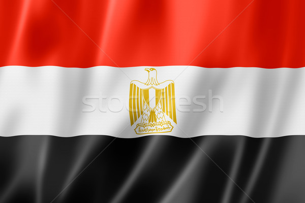 Egyptian flag Stock photo © daboost
