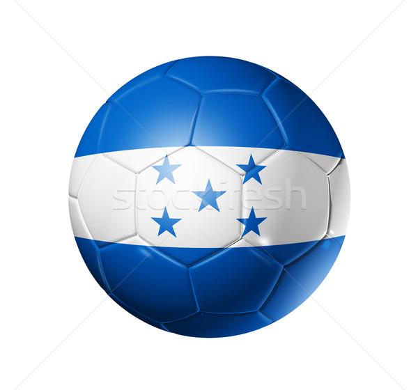 Calcio calcio palla Honduras bandiera 3D Foto d'archivio © daboost