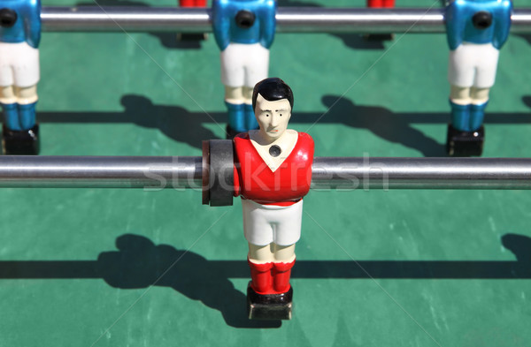 foosball. table soccer Stock photo © daboost