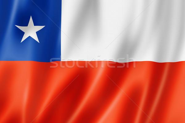 Stock photo: Chilean flag